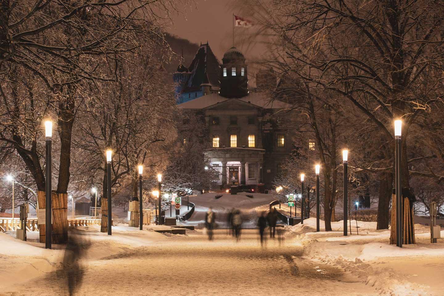 SHUFFLE smart pole provides a high-quality, connected multi-purpose space for McGill University